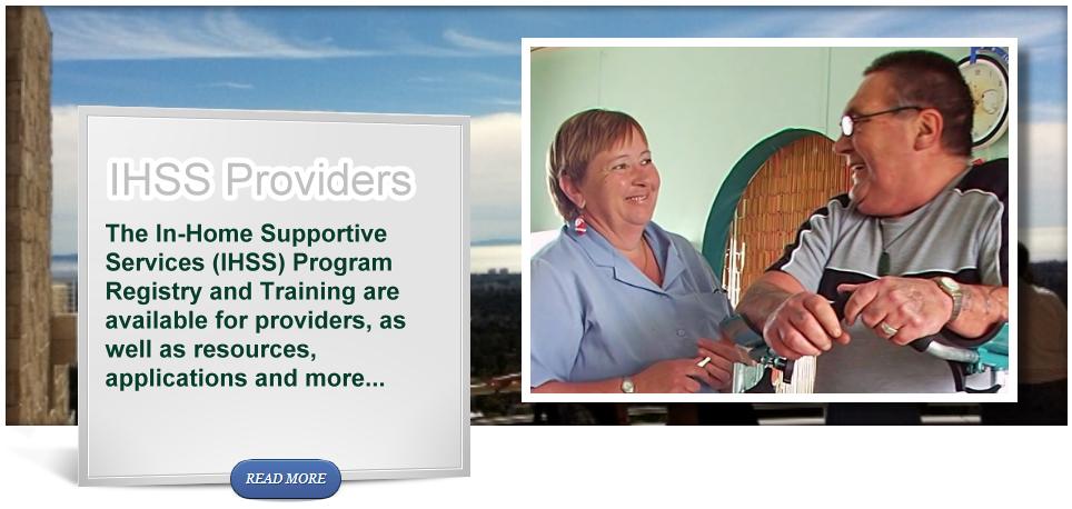 IHSS Providers