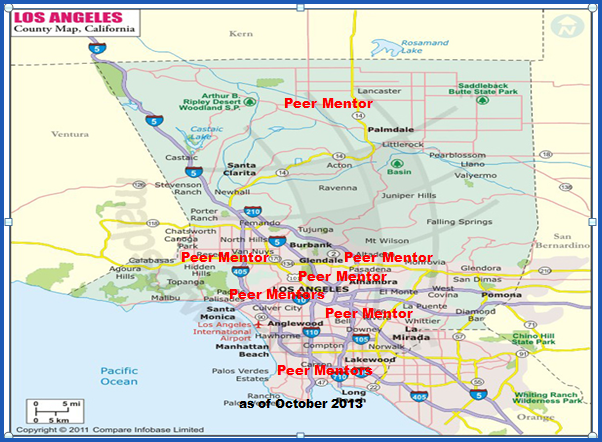 Peer Mentor Map 10-13